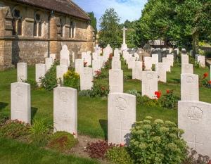 Sutton Veny churchyard